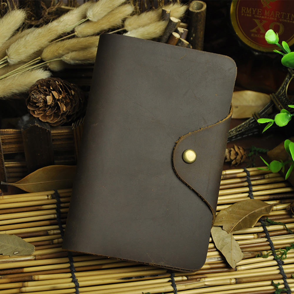 High Quality Crazy Horse Cowhide Genuine Leather Wallet For Men Vintage Bifold Purse Coin Pocket ID/Credit Card Holder Wallets high quality men genuine leather organizer wallet vintage cowhide clasp card holder coin purse vintage carteira masculina 1011