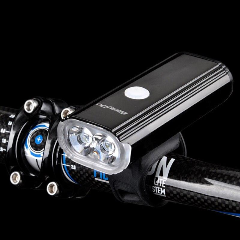 1000 lumens luz da bicicleta à prova dwaterproof água de carregamento usb guiador lâmpada mtb estrada farol ciclismo frente led luzes brilhantes lt0108|Luz de bicicleta| |  -