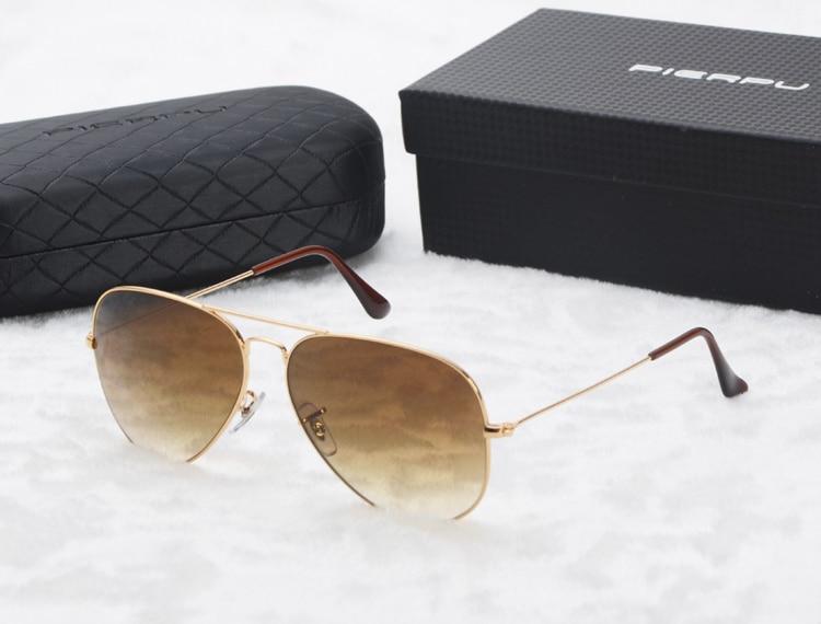 Jungen Gläser Zuversichtlich Frauen Männer 3025 Sonnenbrille Marke Designer Mode Gradienten Randlose Sonnenbrille Frosch Spiegel Gradienten Unisex Gafas De Sol Mit Box
