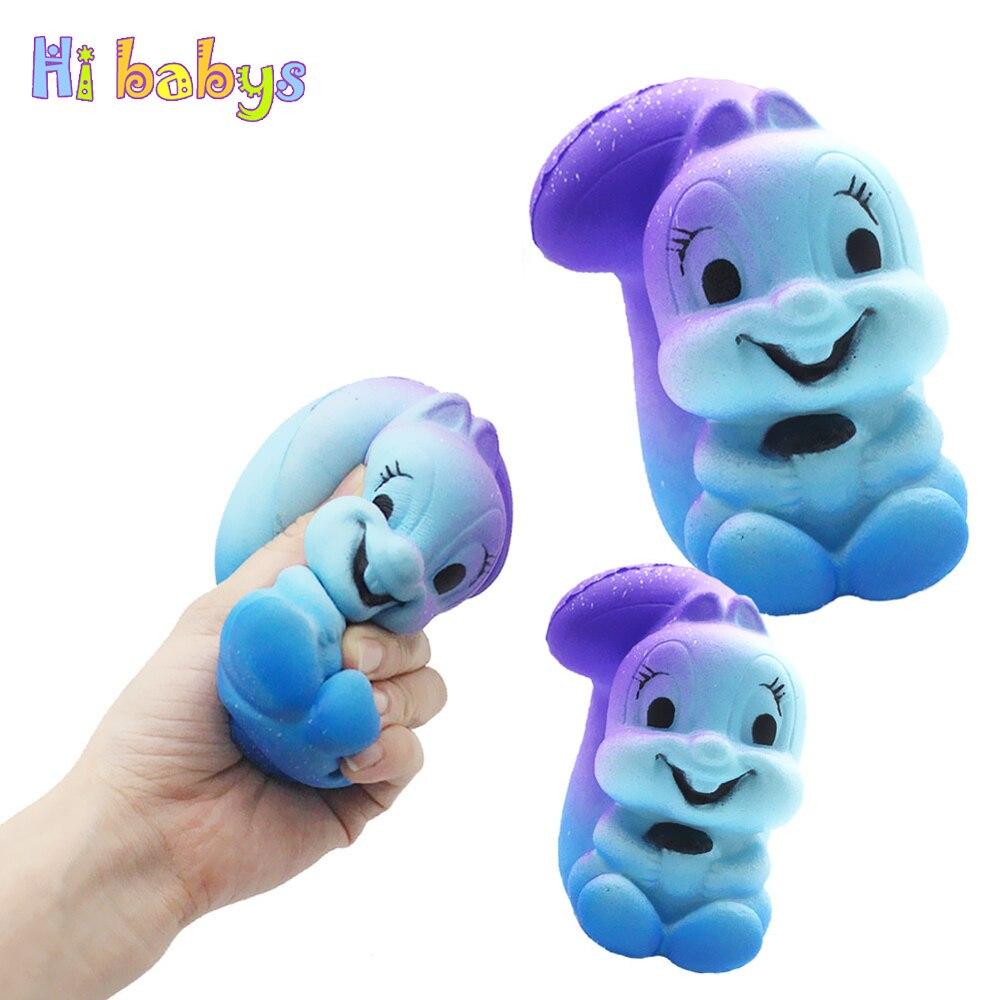 Squishy Jumbo Galaxy Eichhörnchen Squeeze Spielzeug Smooshy Matschig Squishy Tier Langsam Rising Antistress Zerquetscht Sensorischen Spielzeug Kinder Geschenk