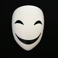 Novelty Cosplay Mask Dark Bullets Scorpion Shadow Smiley Evil Clown Mask Halloween Masquerade Performance Party Horror Mask