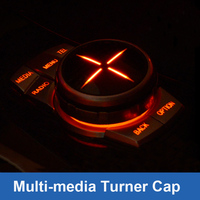 For BMW 1 2 3 5 7 Series Multimedia Turner Button Cover Decoration For X1 X3