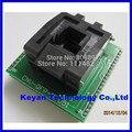 Frete grátis CHIP PROGRAMADOR SOCKET TQFP44 QFP44/PQFP44 TO DIP40 adaptador de soquete suporte MPU-51 chip
