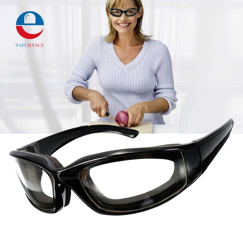 NEW Safurance Goggles Glasses Built In Sponge Kitchen Slicing Eye Protection  Workplace Safety Windproof  Anti-sand