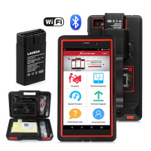 цена LAUNCH X431 Pro Mini Auto diagnostic tool Support WiFi/Bluetooth Tool Autoscanner Diagnosis Tools ECU Coding Analyzer Car OBD2 в интернет-магазинах