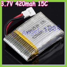 5pcs lot 1S 3 7V 420mAh 15C Lipo Battery RC For Walkera rc helicopter free shipping
