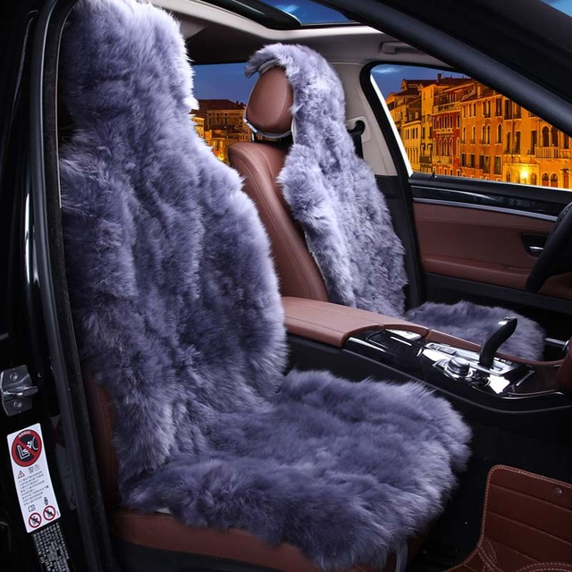 Car Seat Covers Fur Sheepskin From Australia Pieces Universal Size