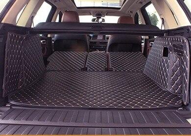 En totalité entouré personnalisé tapis voiture du tronc pour BMW X5 F15 5 sièges durable démarrage tapis cargo tapis pour X5
