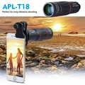 APEXEL 18X lente de Zoom de distancia lente de teléfono móvil para Smartphone Universal iPhone Xiaomi Redmi Samsung Telefon lente de cámara