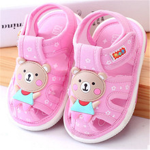 Soft Denim Fabric Infant Shoes 0-24M Summer New First Walkers Good Quality Nonslip Sound Shoes For Toddler Boys & Girls ms noki denim 10cm heel metal decoration soft pumps good quality women shoes summer 2017 fashion casual shoes for girls hot