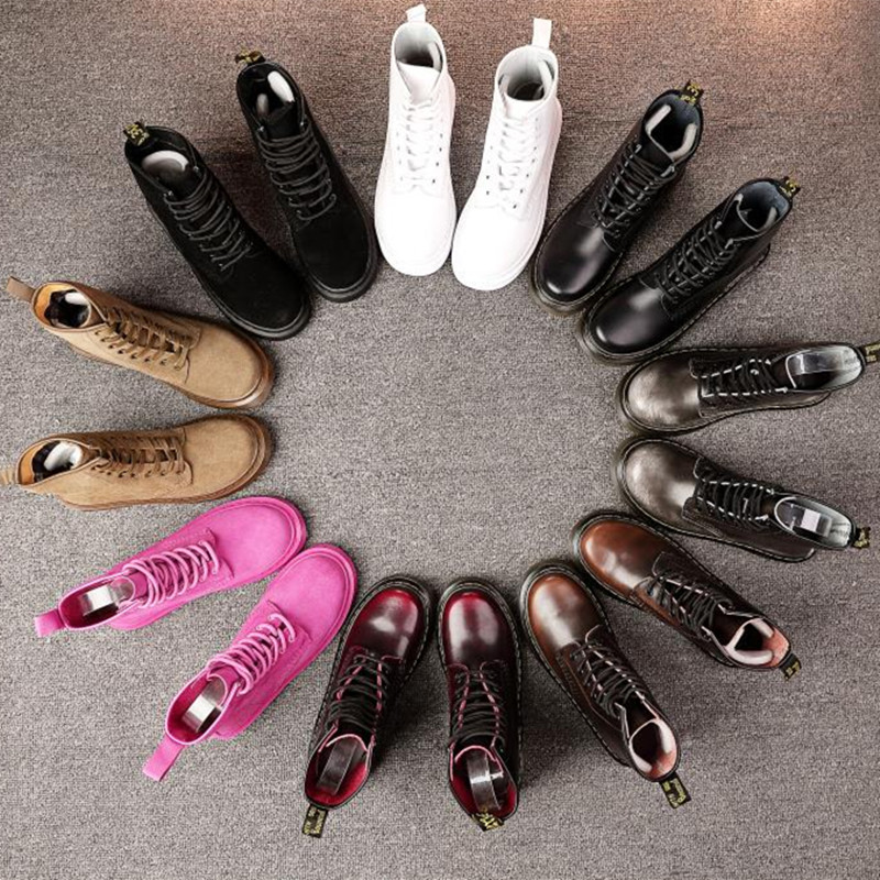 2018 Dr Fashion Ankle Boots Winter / Fall Women Motorcycle Martin Boots Women Boots Snow Boots Oxfords Female Shoes Size 35-40