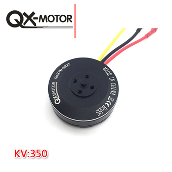 1Pcs For RC Multicopters Drone QX-MOTOR 6S 5006 350KV 4008 4108 Brushless Motor Multi-rotor Disc for 550 650 850