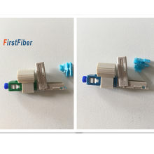 Fujikura original SC APC/UPC fast connector SC adapter Cold Connector Quick FTTH SC Single Mode UPC Fast Connector(China)