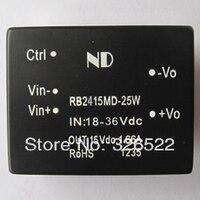 Dc dc converters 24 V step naar 15 V 25 W Geïsoleerde dc-dc voeding modules Gratis verzending