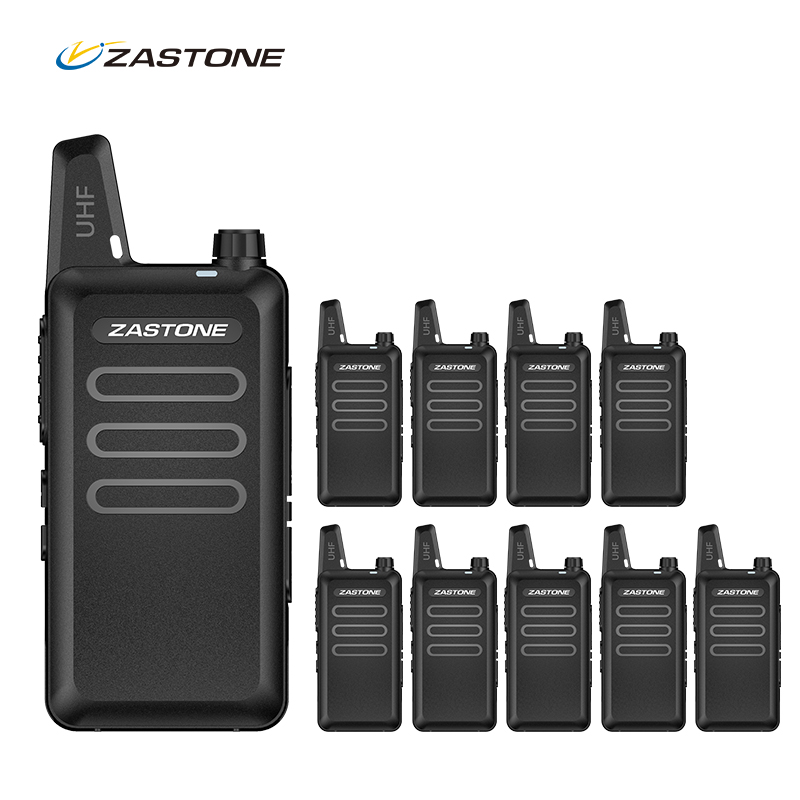 10pcs Professional Mini Walkie...