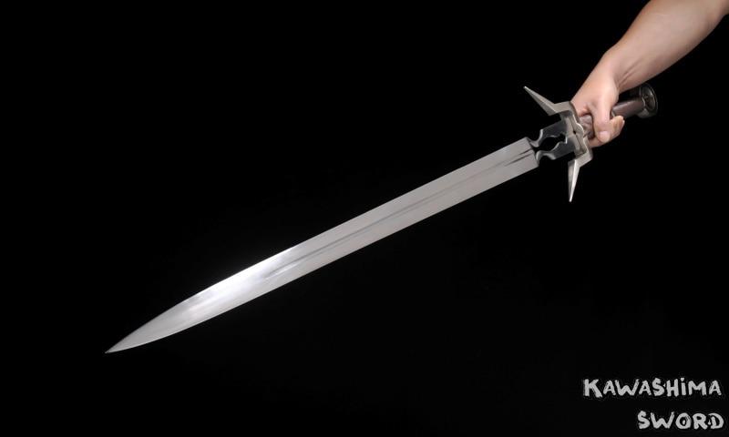 Orta əsr Qılınc Paslanmayan Polad Ciri'nin Bıçağı Replikası - Ev dekoru - Fotoqrafiya 4