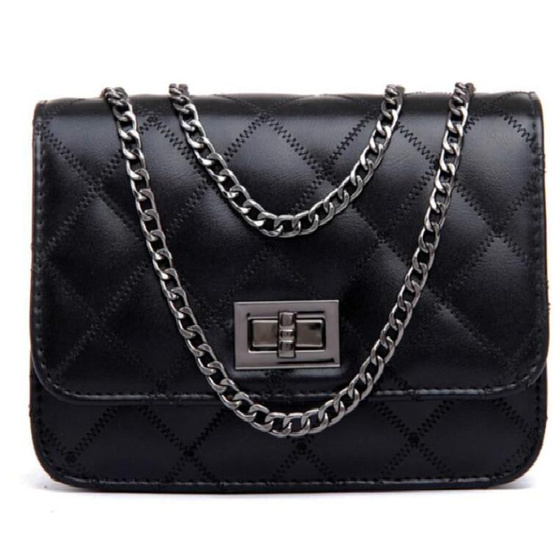PINK famous designer women leather composite chain bolsa feminina Sac a main luxury shoulder tote crossbody bag messenger bag