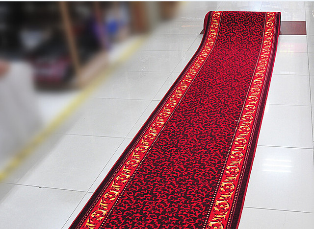 10*1M Home Printed Antislip Corridor Carpet Fashion Hotel Stairs Carpet  Promotion KTV Aisle Floor