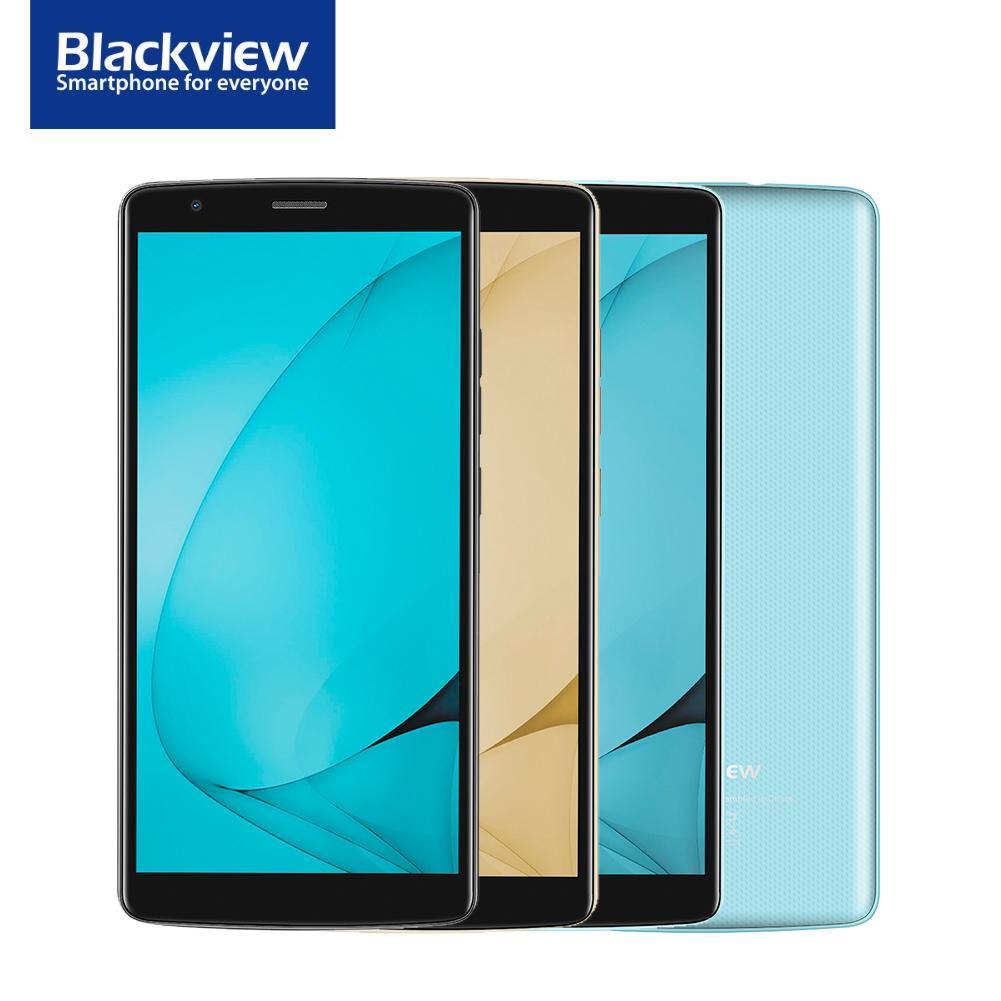 Blackview A20 Smartphone 5.5 Tela 18:9 Quad-Core 8 1 gb RAM gb ROM Dual Camera 3000 mah GPS 3g Chamada Telefone Esperto Do Telefone Móvel