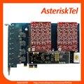 Asterisk Карты AEX800 с Аппаратной Эхо-PCI-E 8 порта FXO карты Для VoIP Атс, AEX801E AEX804E AEX808E