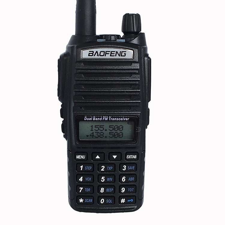 10 km original Baofeng uv-82 réel 8 W Portable jambon Radio 10 KM talkie-walkie double PTT poignée Radio émetteur-récepteur Radio bidirectionnel
