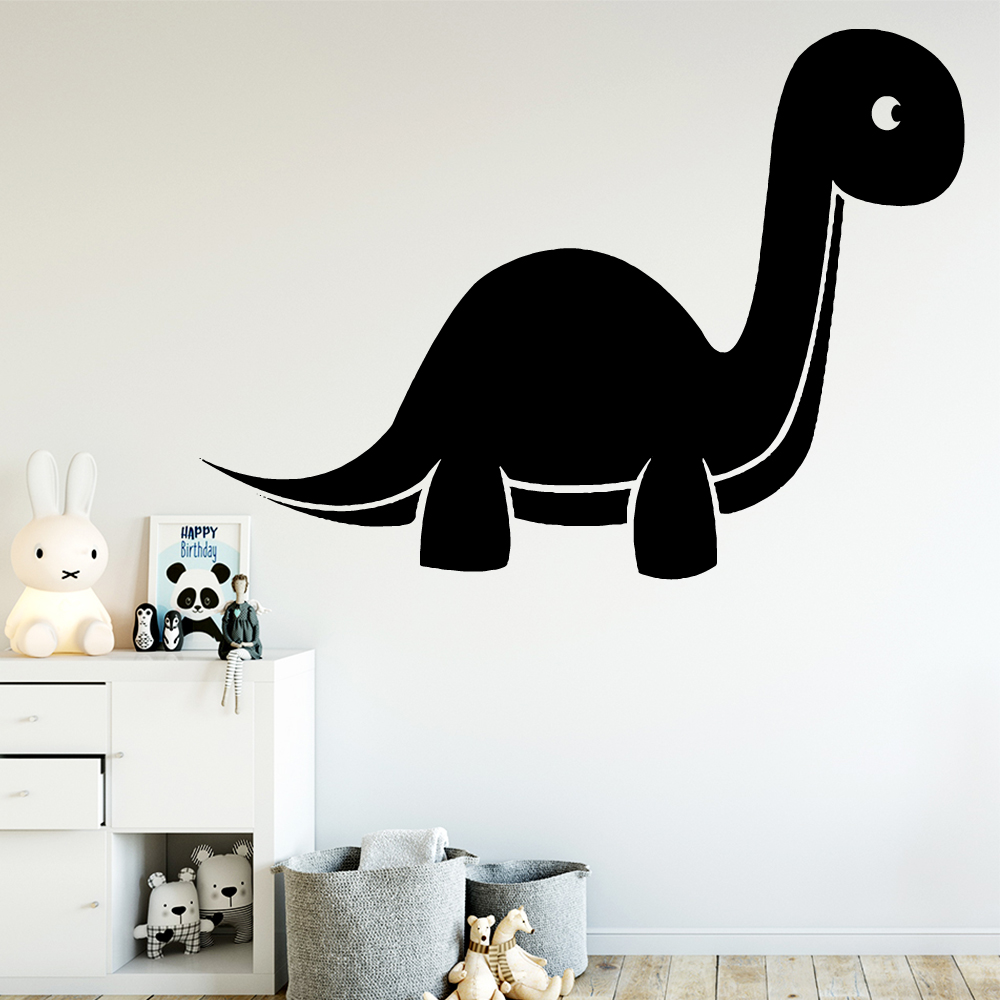 Cute Dinosaur Wall Sticker Pvc Wall Art Stickers Wallsticker Decor Living Room Bedroom Removable Wall Decoration Murals in Wall Stickers from Home Garden