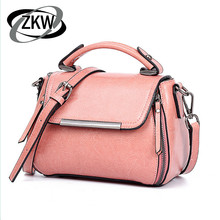 2019 Autumn New Women's Bag Retro Wild Oil Wax Genuine Leather Ladies Handbag Mini Shoulder Diagonal Package стоимость