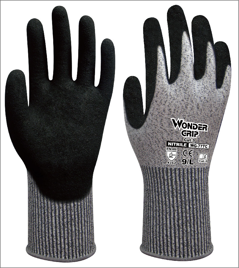 Safety Glove HPPE Cut Resistant Work Glove anti cut safety glove hppe cut resistant work glove