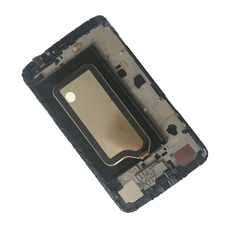 Черный для Samsung Galaxy Tab 3 8.0 T311 T315 SM-T311 sm-t315 Сенсорный экран планшета + ЖК-дисплей Дисплей Мониторы сборки с Рамки