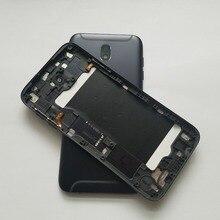 الأصلي جديد لسامسونج غالاكسي J7 برو 2017 J730 J730F J730G J730FD هيكل للهاتف المحمول حالة الإطار الخلفي البطارية الغلاف الخلفي