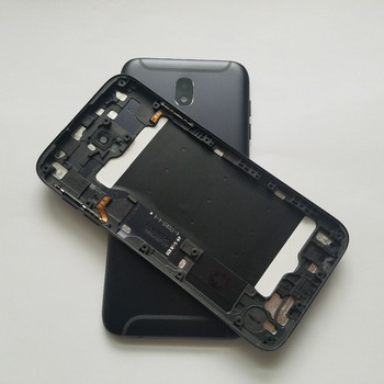 Original New For Samsung Galaxy J7 Pro 2017 J730 J730F J730G J730FD Mobile Phone Housing Case Rear Frame Battery Back Cover