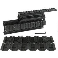 New Tactical 14 Inch 17 Inch HandGuard Rail Assault Picatinny Rail Gun Gray For AEG M4
