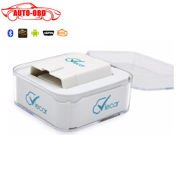 Viecar 4.0 OBD2 Bluetooth Scanner For IOS/Android Multi-brands 2015 New Arrival Viecar 4.0 Car Hud Display Function Resell Box
