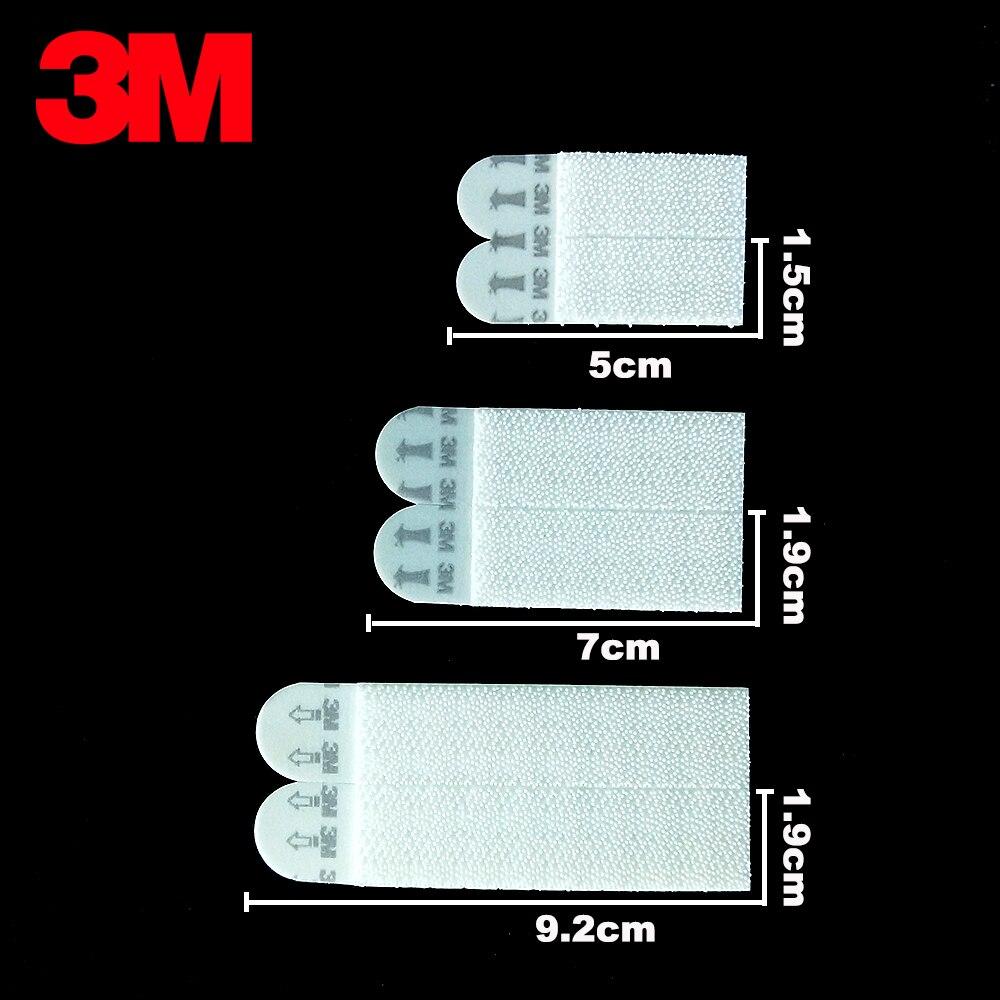 3 M bandes magnétiques de commande 3 m bandes adhésives de commande photo amovible accrocher attache de verrouillage dommages suspendus