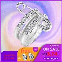Women Romantic Wedding Rings Jewelry Cubic Zirconia