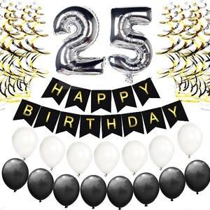 FoPcc Decorations Happy Birthday Foil Party Supplies