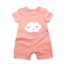 Babies Girls Romper Short Sleeve Baby Boys Clothes 6 9 12 18 24 Months Baby Jumpsuit