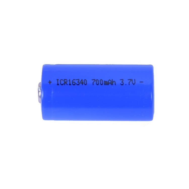 2018 ICR 16340 700 mAh 3.7V Li-ion Rechargeable Battery