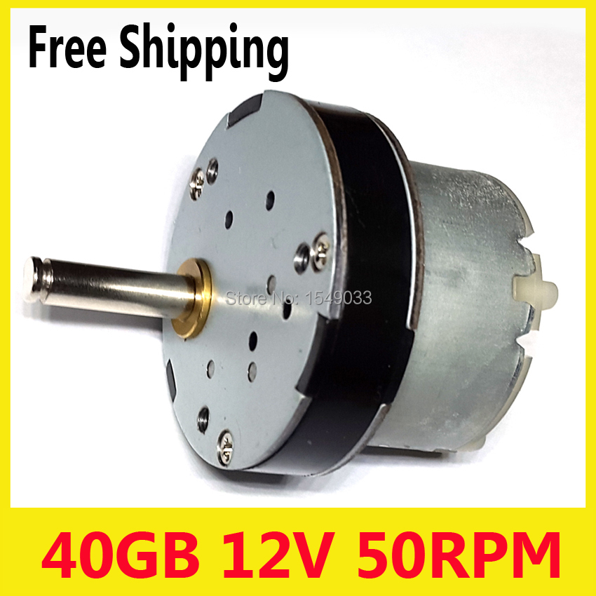 50RPM New dc 12V motor  40GB powerful high torque gear box motor gearmotors  Operating voltage dc 24v dc 6v dc 3v motor50RPM New dc 12V motor  40GB powerful high torque gear box motor gearmotors  Operating voltage dc 24v dc 6v dc 3v motor