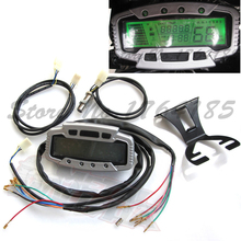 Motorcycle Digital Speedometer Odometer Dashboard speedometer Universal ATV DIRT BIKE PARTS