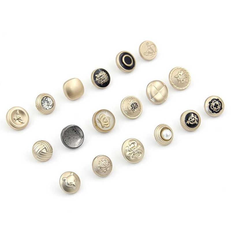 Малый размер шитье и Скрапбукинг покрытие аксессуаров сплав кнопки для рубашки и платья и свитер 100 шт/партия