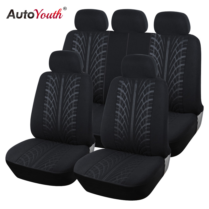 New Arrival Looped Fabric Full Car Seat Cover Universal Fit Most Brand Vehicles Seat Covers Black Car Seat Protector For peugeot 2017 new arrival butterfly car seat cover