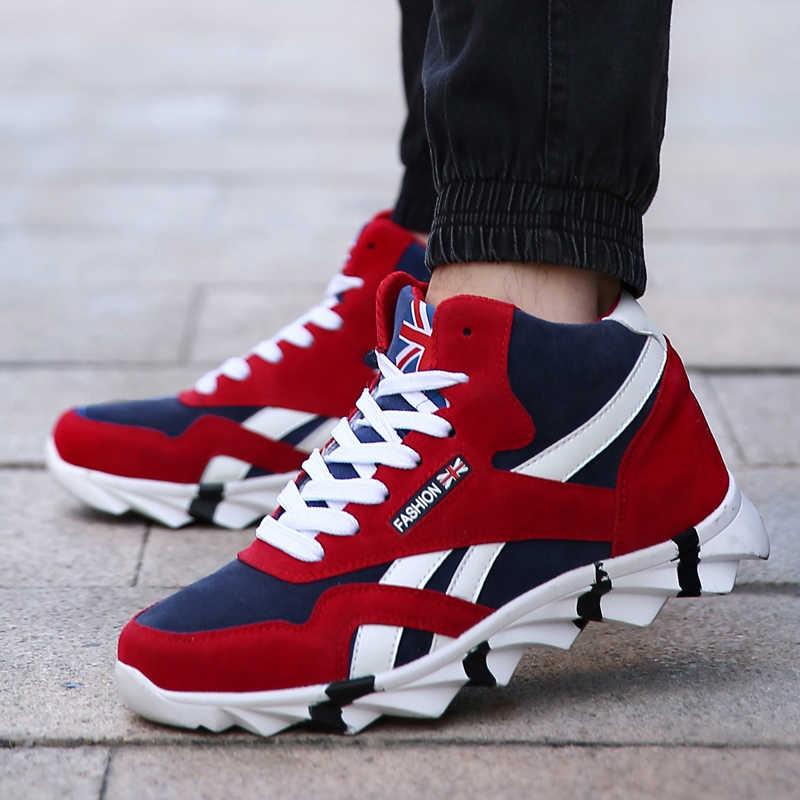 3227d7783 UBFEN/осенне-зимняя модная новая брендовая повседневная обувь для мужчин,  удобная мягкая износостойкая