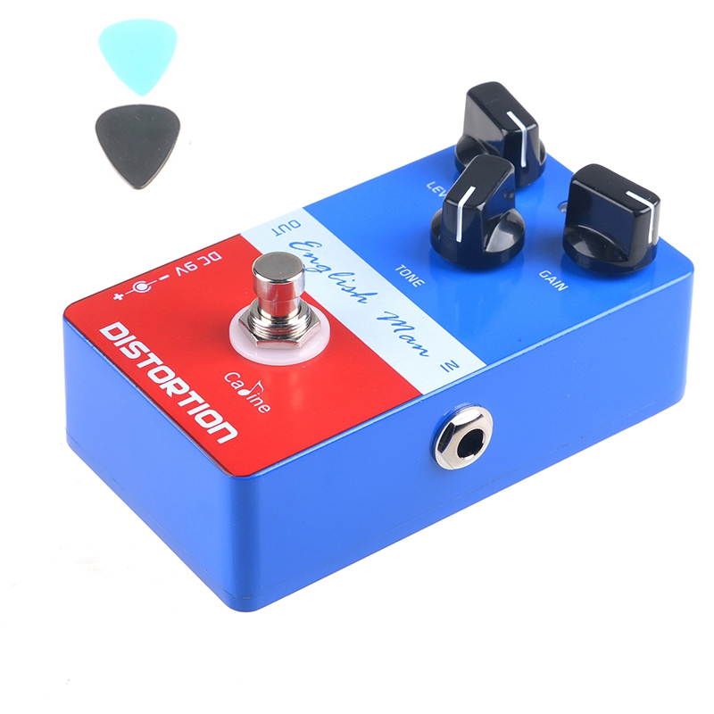 Caline CP-14 English Man Distortion Guitar Effect Pedal Aluminum Alloy Pedals High Frequency CP14 True Bypass aroma adr 3 dumbler amp simulator guitar effect pedal mini single pedals with true bypass aluminium alloy guitar accessories