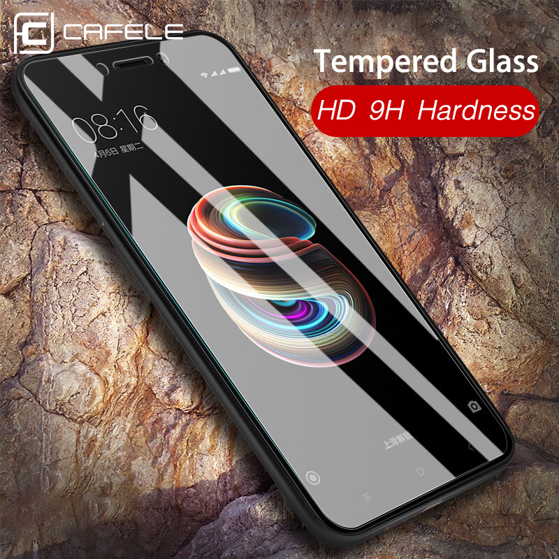 CAFELE Tempered Glass For Xiaomi MI 9 9t Pro 8 6 5X A1 Mix 2 2S 3 9SE Pocophone F1 Redmi Note 7 8 K20 Pro Screen Protector