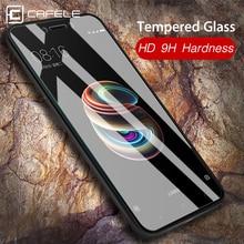 Купить с кэшбэком CAFELE Tempered Glass For Xiaomi MI 9 9t pro 8 6 5X A1 mix 2 2S 3 9SE Pocophone F1 Redmi Note 7 8 k20 Pro Screen Protector