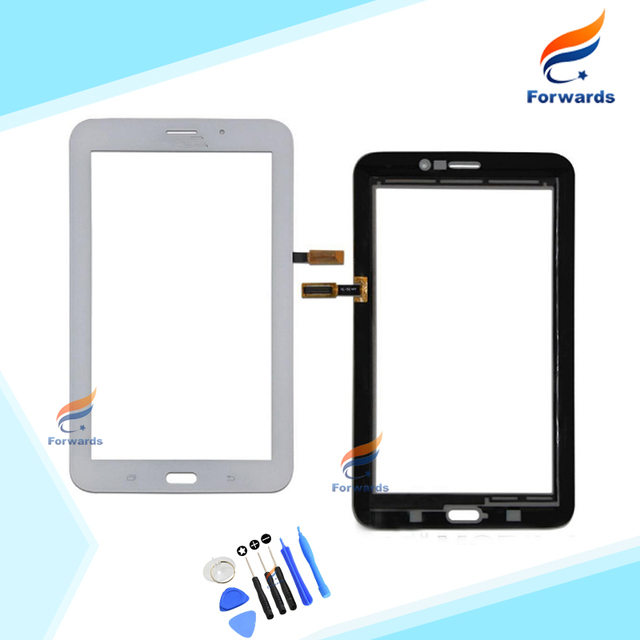 New Replacement Parts for Samsung Galaxy Tab 3 7.0 T113 Touch Screen Digitizer Front Glass with Flex Cable 1 piece free shipping