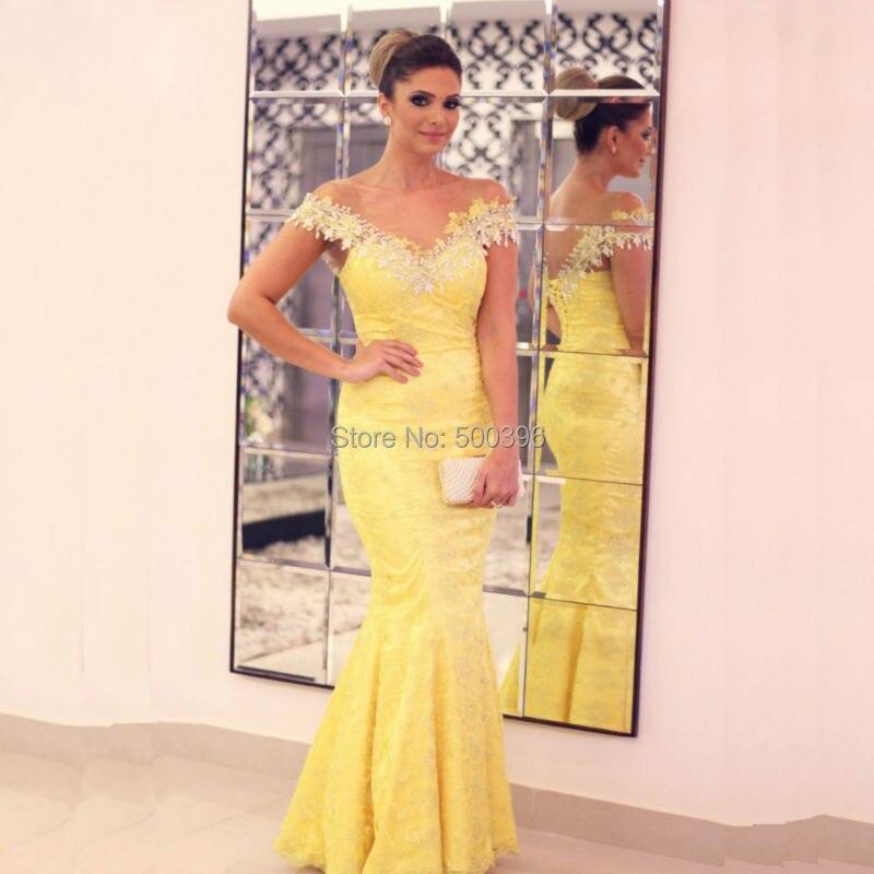 Fotos de mujeres con vestidos amarillos