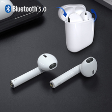 Mini Wireless Bluetooth Earphone Afun-x Auto Paring V5.0 Music Charging Box Mic for Smartphone