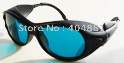 laser safety goggles 190-380nm & 600-760nm O.D 4 + CE High VLT% 10pcs 190 380